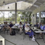Archbold staff reviewed the history and origins of the biological station and the uniqueness of the Florida scrub habitat.
