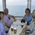 "Enjoying the boat ride to the Dry Tortugas and Fort Jefferson aboard the 100' catamaran ""Yankee Freedom."""