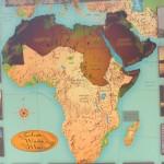 Map of Arab World